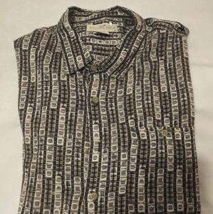 Natural Issue Short Sleeve Button Up Size 3X